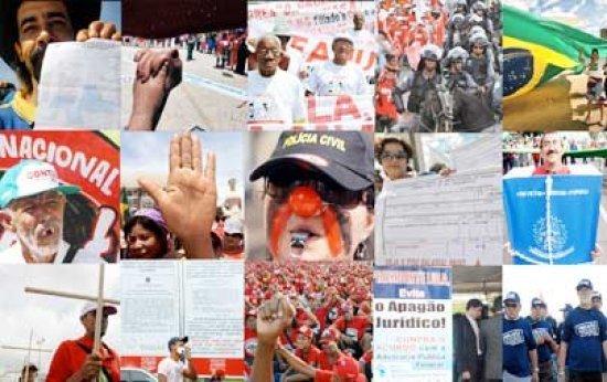 No Brasil, crise gerou corte de vagas e manifestações por parte dos trabalhadores no 1o de maio. Foto: Fotografia/ABr